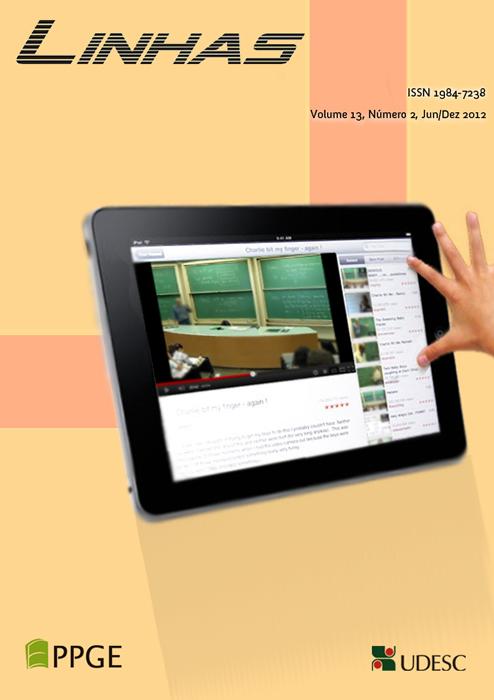 Visualizar v. 13 n. 2 (2012): Dossiê: Contextos Educativos com Tecnologias: abordagens contemporâneas