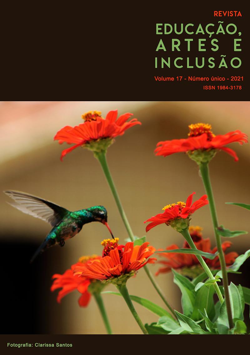 Visualizar v. 17 (2021): Revista Educação, Artes e Inclusão - Publicação contínua