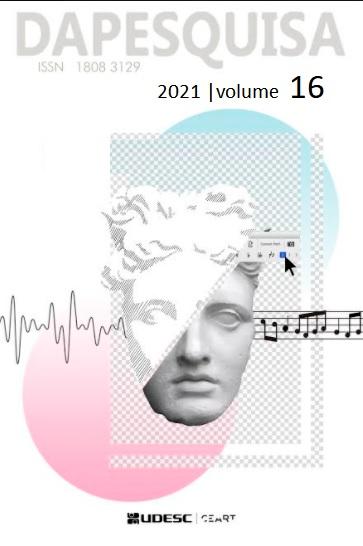 Visualizar v. 16 (2021):  DAPesquisa - Publicação contínua
