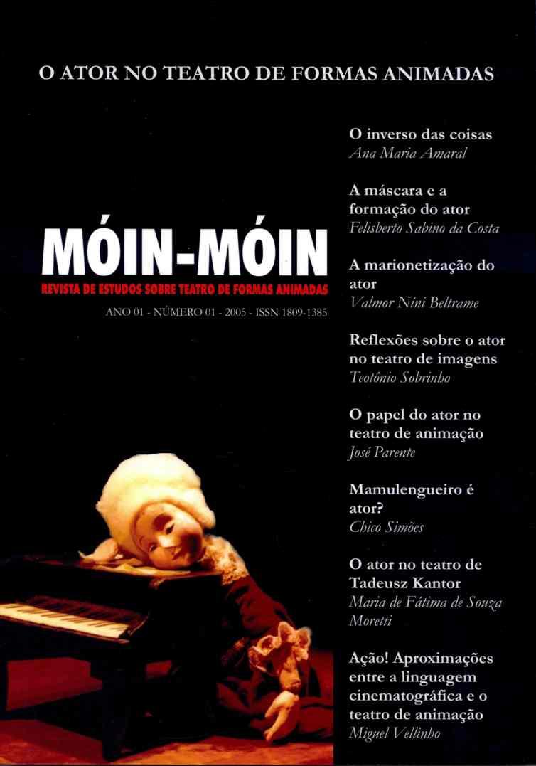 Visualizar v. 1 n. 01 (2005): O ator no Teatro de Formas Animadas