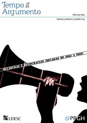 Visualizar v. 5 n. 10 (2013): Ditaduras e Democracias (décadas de 1960-1980)