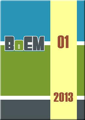 Visualizar v. 1 n. 1 (2013): BoEM