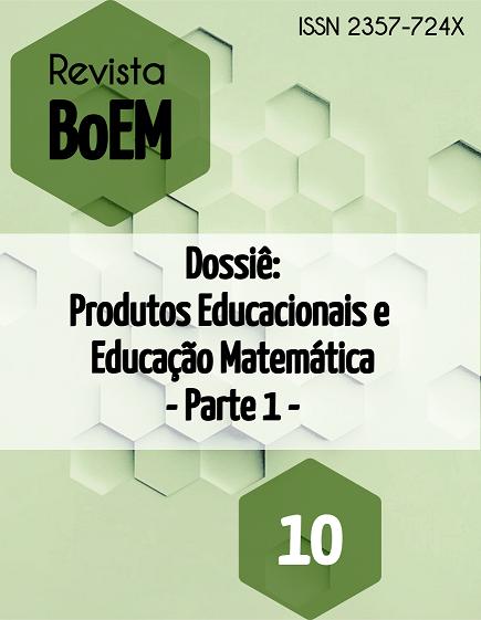 Visualizar v. 6 n. 10 (2018): Dossiê Temático: Produtos Educacionais e Educação Matemática - Parte 1