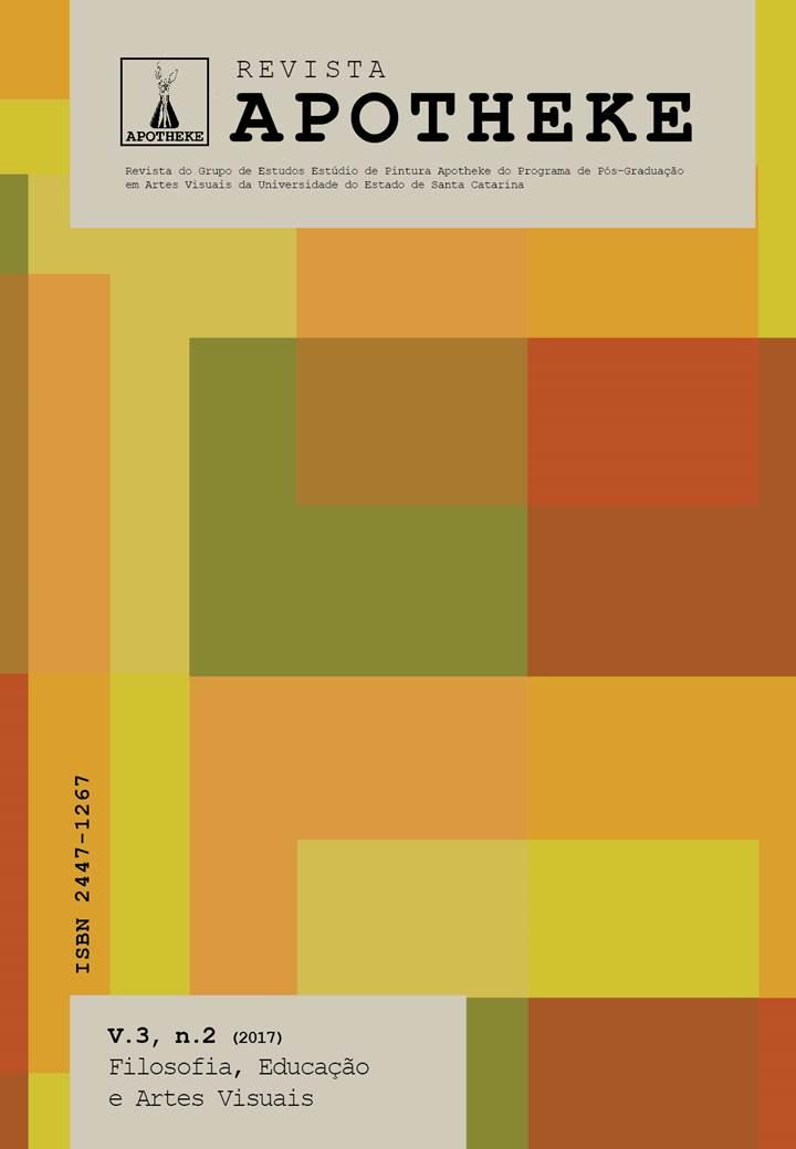 Visualizar v. 3 n. 2 (2017): Filosofia, Educação e Artes Visuais
