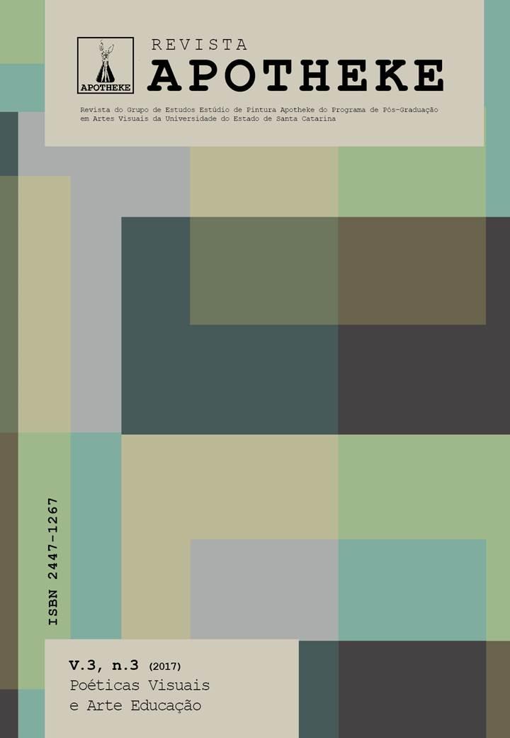 Visualizar v. 3 n. 3 (2017): Poéticas Visuais e Arte Educação