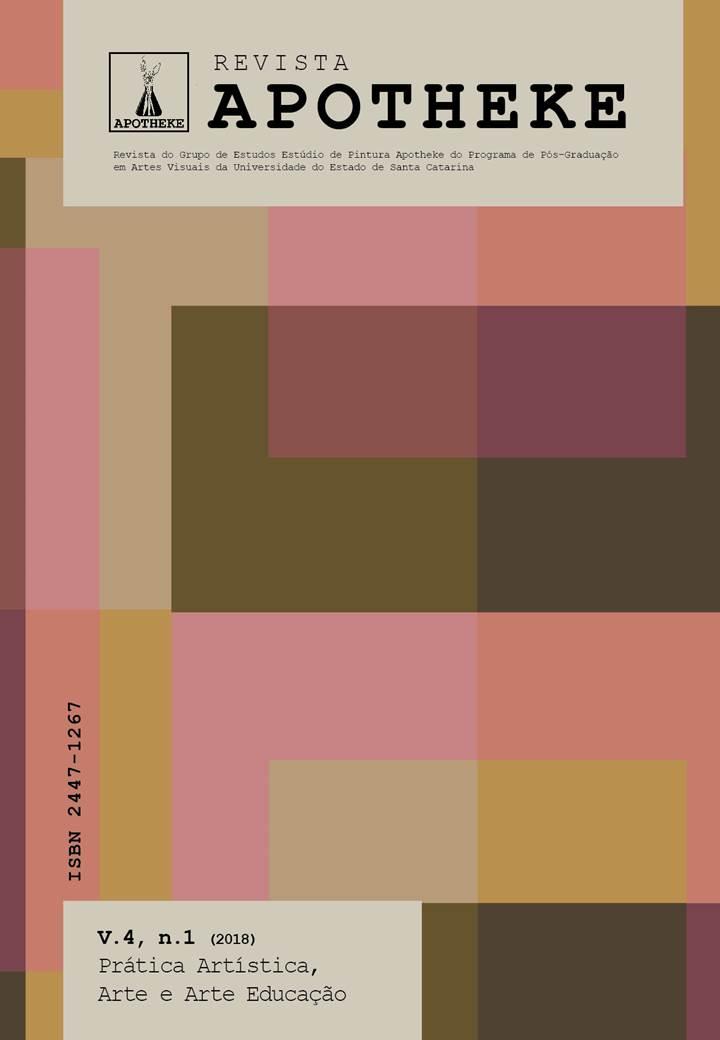 Visualizar v. 4 n. 1 (2018): Prática Artística, Arte e Arte Educação