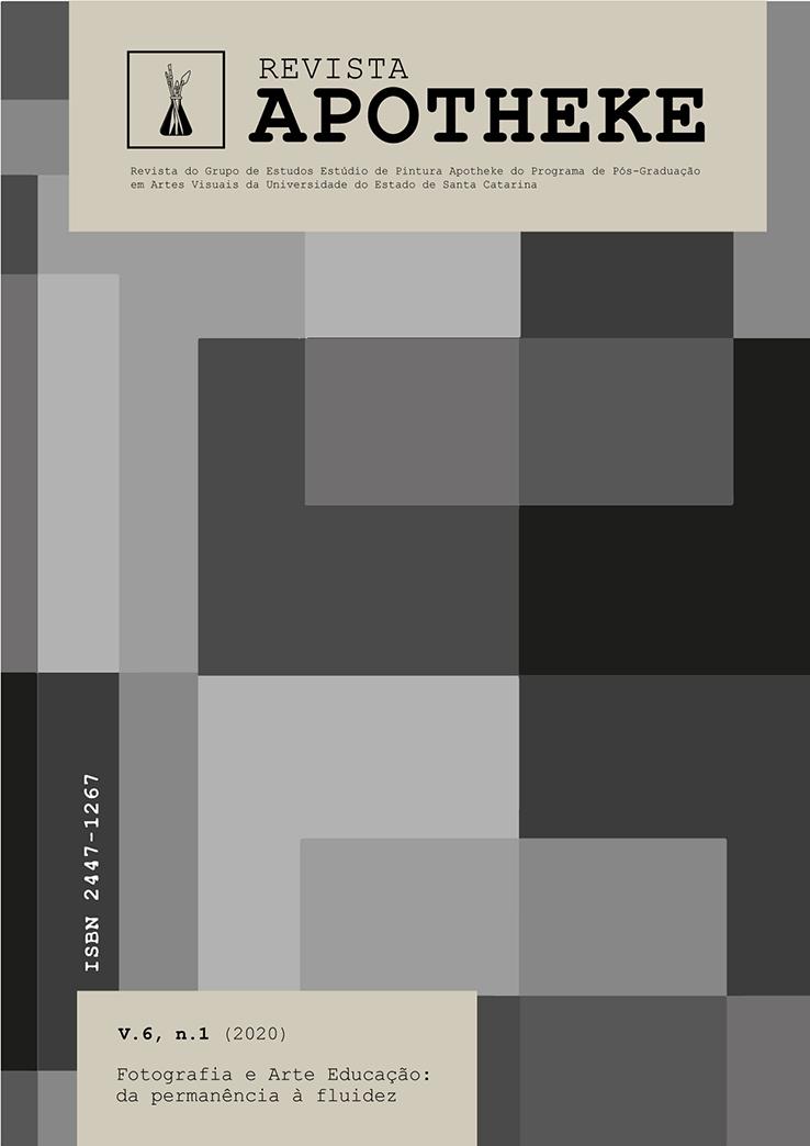"""Visualizar v. 6 n. 1 (2020): """"Fotografia e Arte Educação: da permanência à fluidez"""""""